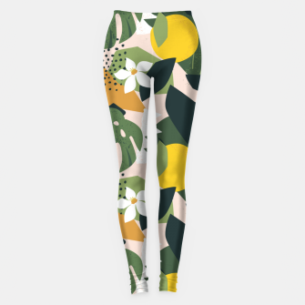 Imagen en miniatura de Tropical nature graphic Leggings, Live Heroes
