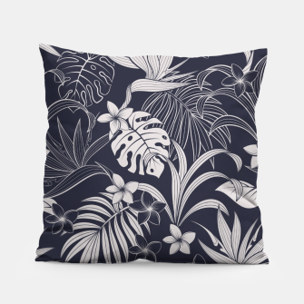 Thumbnail image of Tropical navy blue Almohada, Live Heroes