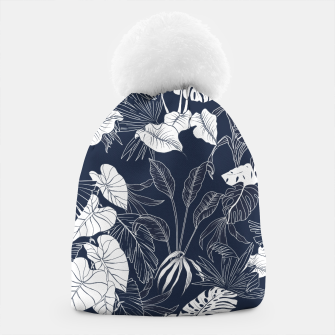 Thumbnail image of Tropical navy blue Gorro, Live Heroes