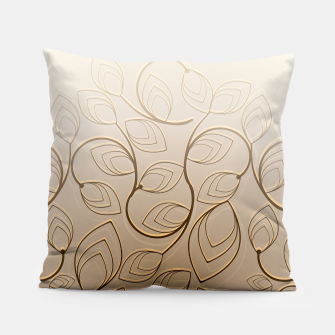 Thumbnail image of Organic Flower Field Pillow, Live Heroes