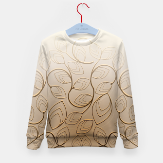 Thumbnail image of Organic Flower Field Kid's sweater, Live Heroes