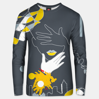 Thumbnail image of Lines Unisex sweater, Live Heroes