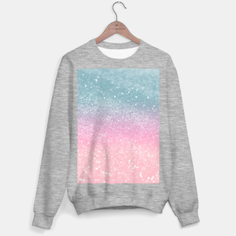 Miniature de image de Unicorn Princess Glitter #5 (Faux Glitter - Photography) #pastel #decor #art  Sweatshirt regulär, Live Heroes