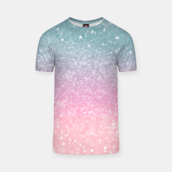 Miniature de image de Unicorn Princess Glitter #5 (Faux Glitter - Photography) #pastel #decor #art  T-Shirt, Live Heroes