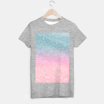 Miniature de image de Unicorn Princess Glitter #5 (Faux Glitter - Photography) #pastel #decor #art  T-Shirt regulär, Live Heroes