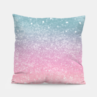Miniature de image de Unicorn Princess Glitter #5 (Faux Glitter - Photography) #pastel #decor #art  Kissen, Live Heroes