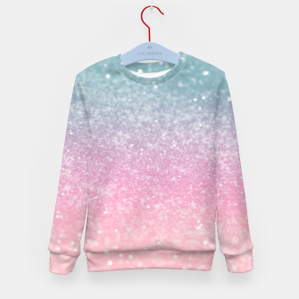 Miniature de image de Unicorn Princess Glitter #5 (Faux Glitter - Photography) #pastel #decor #art  Kindersweatshirt, Live Heroes