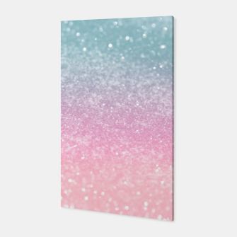 Miniature de image de Unicorn Princess Glitter #5 (Faux Glitter - Photography) #pastel #decor #art  Canvas, Live Heroes