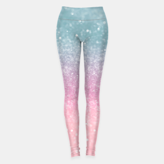 Miniature de image de Unicorn Princess Glitter #5 (Faux Glitter - Photography) #pastel #decor #art  Leggings, Live Heroes