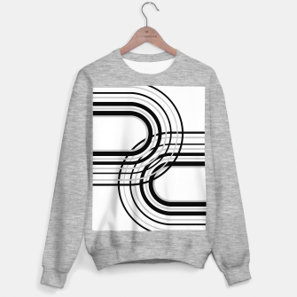 Miniature de image de Rainbow Arch Minimal Abstract #5 #decor #art Sweatshirt regulär, Live Heroes
