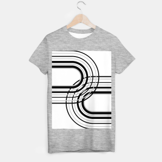 Miniature de image de Rainbow Arch Minimal Abstract #5 #decor #art T-Shirt regulär, Live Heroes