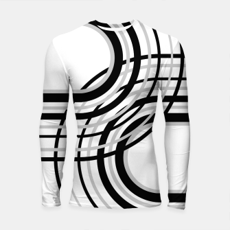 Miniature de image de Rainbow Arch Minimal Abstract #5 #decor #art Longsleeve rashguard, Live Heroes