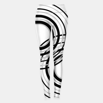 Miniature de image de Rainbow Arch Minimal Abstract #5 #decor #art Leggings, Live Heroes