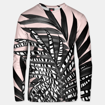 Thumbnail image of Palm Leaves with Tiger Stripe Glam #2 #tropical #decor #art  Unisex sweatshirt, Live Heroes
