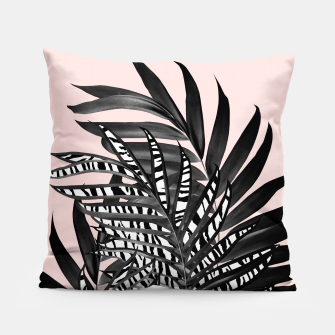 Palm Leaves with Tiger Stripe Glam #2 #tropical #decor #art  Kissen thumbnail image