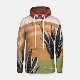 Thumbnail image of Snake Plant in the Desert #1 #tropical #wall #art  Kapuzenpullover, Live Heroes