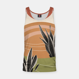 Thumbnail image of Snake Plant in the Desert #1 #tropical #wall #art  Muskelshirt , Live Heroes