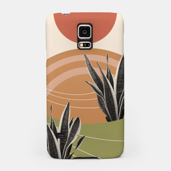 Thumbnail image of Snake Plant in the Desert #1 #tropical #wall #art  Handyhülle für Samsung, Live Heroes