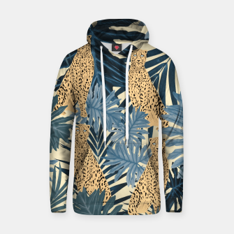 Summer Cheetah Jungle Vibes #1 #tropical #decor #art  Kapuzenpullover thumbnail image