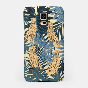 Thumbnail image of Summer Cheetah Jungle Vibes #1 #tropical #decor #art  Handyhülle für Samsung, Live Heroes
