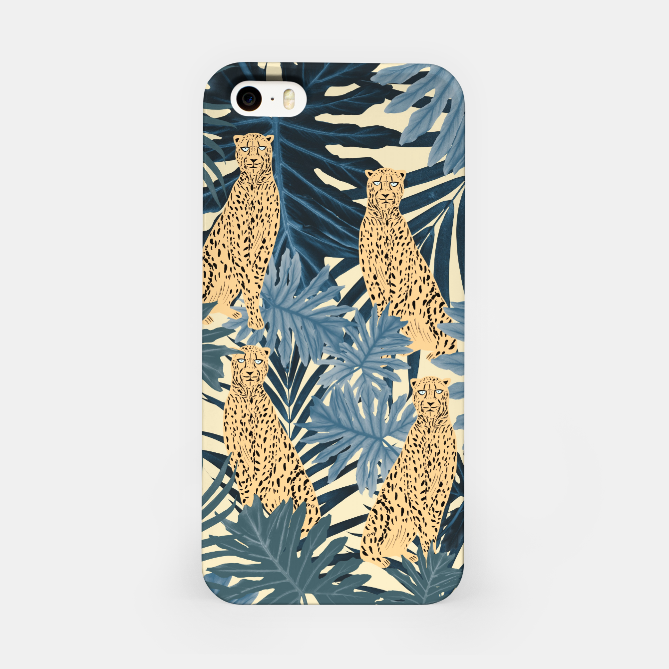 Image of Summer Cheetah Jungle Vibes #1 #tropical #decor #art  iPhone-Hülle - Live Heroes