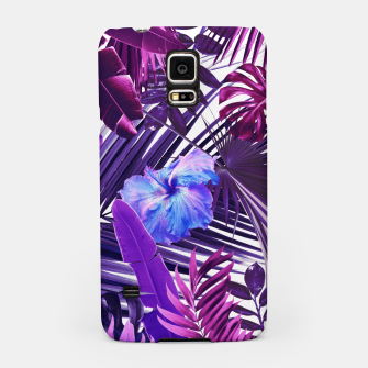 Tropical Hibiscus Flower Jungle Pattern #2 #tropical #decor #art  Handyhülle für Samsung thumbnail image