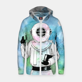 Thumbnail image of blessing Zip up hoodie, Live Heroes