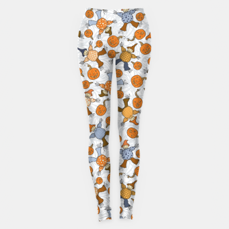 Thumbnail image of Tumbling Scarecrows Leggings, Live Heroes