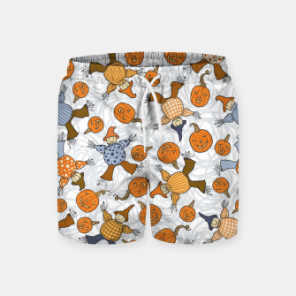 Thumbnail image of Tumbling Scarecrows Swim Shorts, Live Heroes