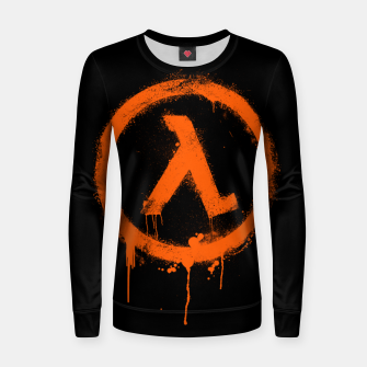Thumbnail image of Rise and Shine - Half-life Women sweater, Live Heroes