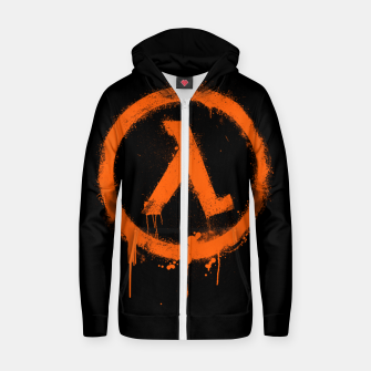 Thumbnail image of Rise and Shine - Half-life Zip up hoodie, Live Heroes