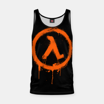 Thumbnail image of Rise and Shine - Half-life Tank Top, Live Heroes