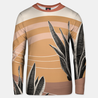 Thumbnail image of Snake Plant in the Desert #2 #tropical #wall #art  Unisex sweatshirt, Live Heroes