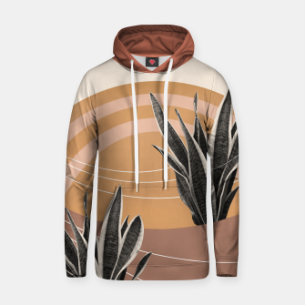 Thumbnail image of Snake Plant in the Desert #2 #tropical #wall #art  Kapuzenpullover, Live Heroes