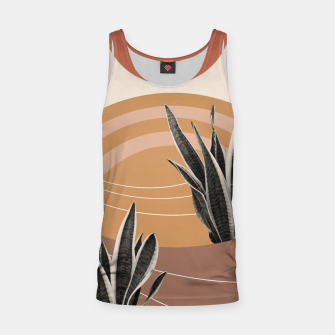 Thumbnail image of Snake Plant in the Desert #2 #tropical #wall #art  Muskelshirt , Live Heroes