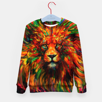 Miniatur lion Kid's sweater, Live Heroes