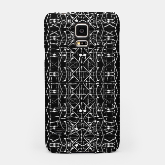 Thumbnail image of Black and White Ethnic Ornate Pattern Samsung Case, Live Heroes