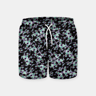 Thumbnail image of Intricate Modern Abstract Ornate Pattern Swim Shorts, Live Heroes