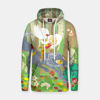 Thumbnail image of Wolf Rider - through the old woods Hoodie, Live Heroes