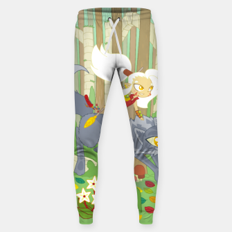 Thumbnail image of Wolf Rider - through the old woods Sweatpants, Live Heroes