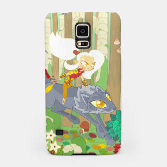Thumbnail image of Wolf Rider - through the old woods Samsung Case, Live Heroes