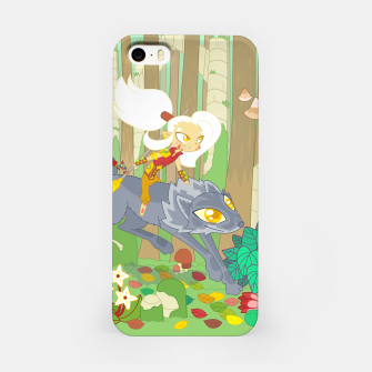 Thumbnail image of Wolf Rider - through the old woods iPhone Case, Live Heroes