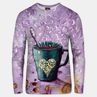 Thumbnail image of Ode to the coffee Unisex sweater, Live Heroes
