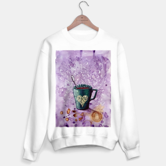 Thumbnail image of Ode to the coffee Sweater regular, Live Heroes