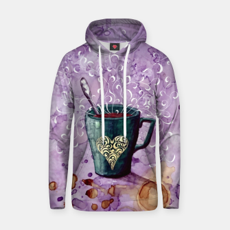 Thumbnail image of Ode to the coffee Hoodie, Live Heroes