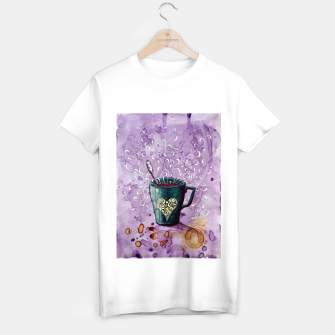Thumbnail image of Ode to the coffee T-shirt regular, Live Heroes