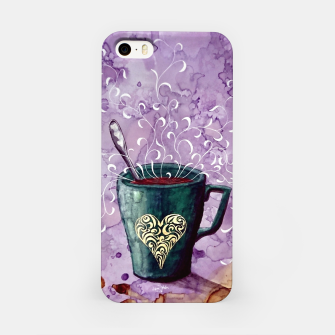 Thumbnail image of Ode to the coffee iPhone Case, Live Heroes