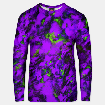 Thumbnail image of Fluttering purple Unisex sweater, Live Heroes