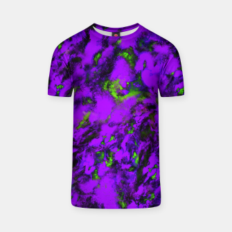 Thumbnail image of Fluttering purple T-shirt, Live Heroes