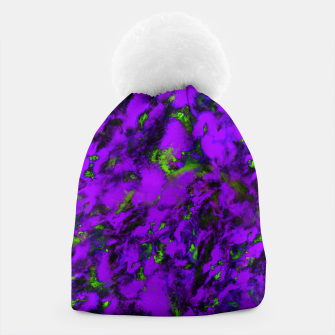 Thumbnail image of Fluttering purple Beanie, Live Heroes